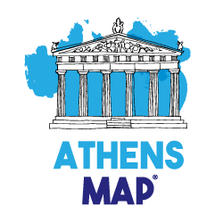 Athens Map – by MasterFold S.A Λογότυπο