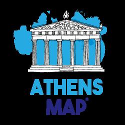 Athens Map – by MasterFold S.A Λογότυπο